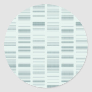 DNA Profiles: Genetic Instructions Creating Life Classic Round Sticker