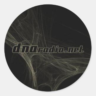 DNA Radio Fractal Sticker