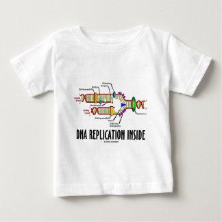DNA Replication Inside (DNA Attitude) Baby T-Shirt