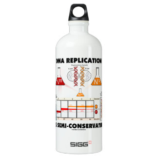DNA Replication Is Semi-Conservative Aluminum Water Bottle