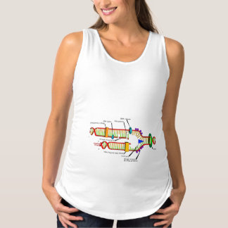 DNA Replication Maternity Tank Top