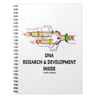 DNA Research & Development Inside Notebook