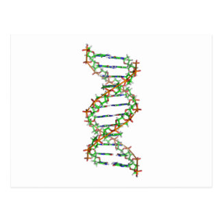 DNA - science/scientist/biology Postcard