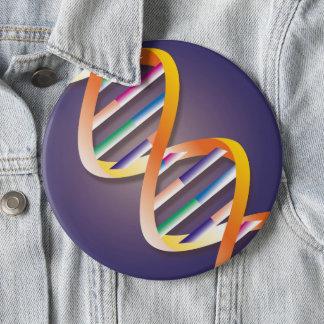 DNA Spotlight Pinback Button
