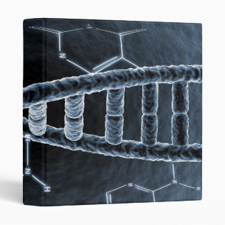 DNA strand 3 Ring Binders