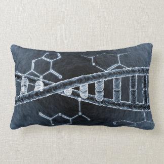 DNA strand Lumbar Pillow
