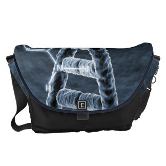 DNA strand Messenger Bag