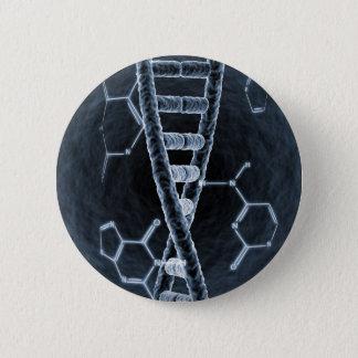 DNA strand Pinback Button
