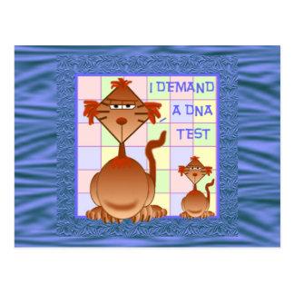 DNA Test Cards