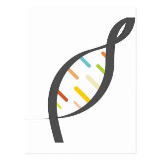 DNA Test Postcard