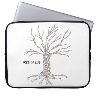 DNA TREE or Tree of Life Computer Sleeves
