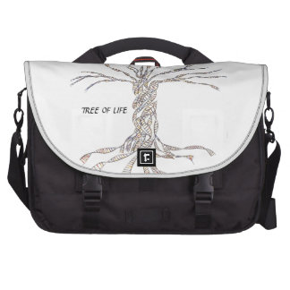 DNA TREE or Tree of Life Laptop Bags