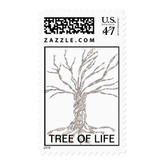 DNA TREE or Tree of Life Postage