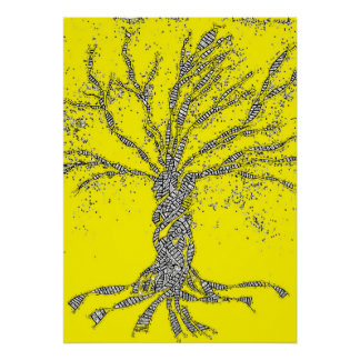 DNA TREE or Tree of Life Poster
