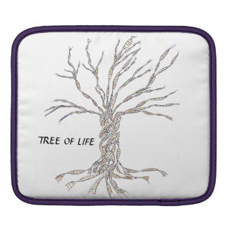 DNA TREE or Tree of Life Sleeves For iPads