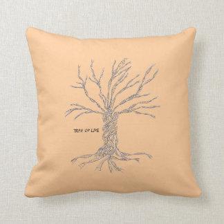 DNA TREE THROW PILLOW