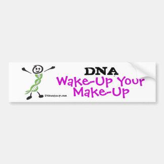 DNA Wake-Up Dan Bumper Sticker