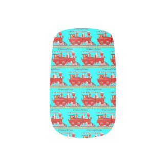 DNatureofDTrain fingernail Minx Nail Wraps