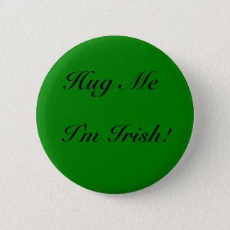 DNatureofDTrain's DarkGreen Irish Hug Pinback Button