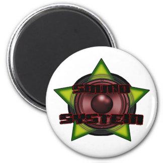 DnB Reggae Dub DUBSTEP DJ Sound System Magnet