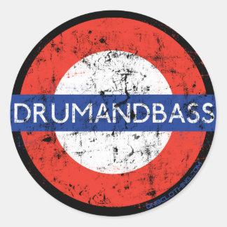 DnB Underground Sticker