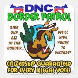 DNC Border Patrol Stickers