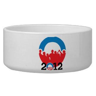 DNC CONVENTION 2012 OBAMA -.png Dog Bowls
