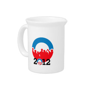 DNC CONVENTION 2012 OBAMA.png Drink Pitcher