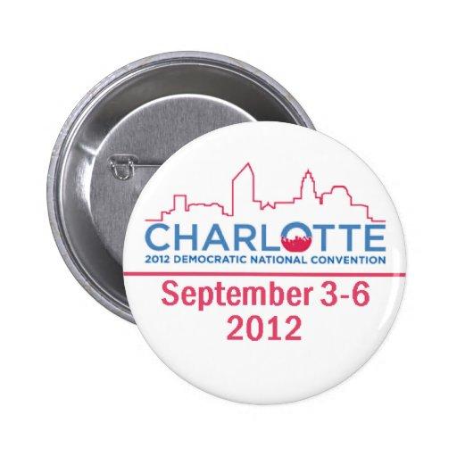 DNC Convention 2 Inch Round Button