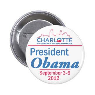 DNC Convention Pinback Buttons