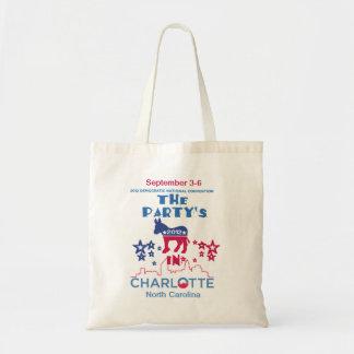 DNC Convention Canvas Bags