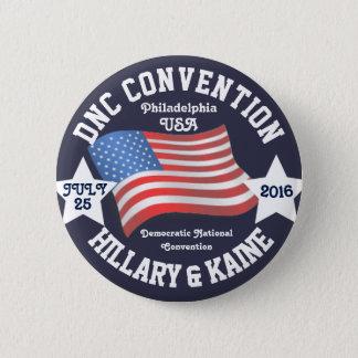 DNC Convention Memorabilia Button