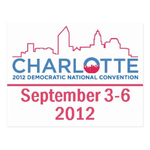 DNC Convention Postcard