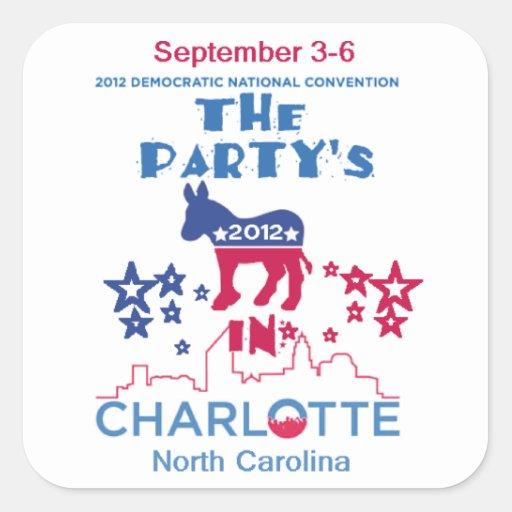 DNC Convention Sticker