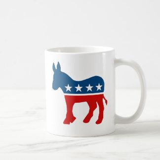 DNC - DEMOCRAT - DONKEY CLASSIC WHITE COFFEE MUG