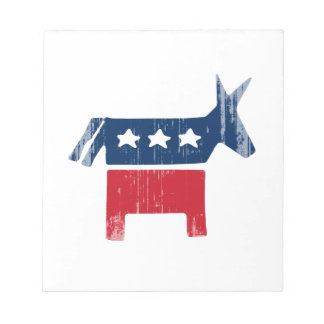 DNC Donkey Faded png Notepads
