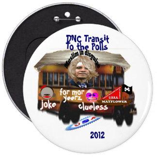 DNC Transit Pinback Button
