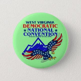 DNC WEST VIRGINIA Button