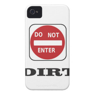 dne dirt iPhone 4 case