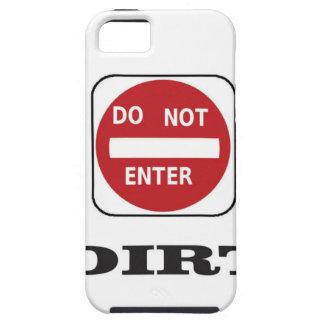 dne dirt iPhone SE/5/5s case