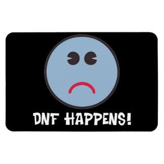 DNF Happens! Geocaching Gifts! Magnet