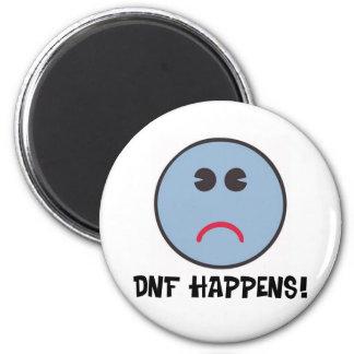 ¡DNF sucede! Imán Redondo 5 Cm