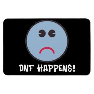 ¡DNF sucede! ¡Regalos de Geocaching! Iman Rectangular