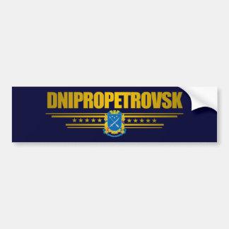 """Dnipropetrovsk COA"" Bumper Sticker Car Bumper Sticker"
