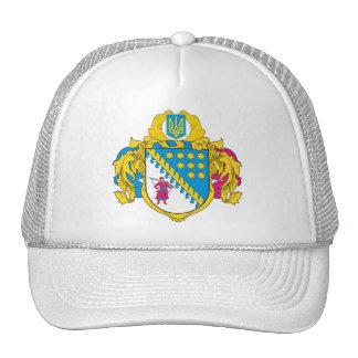 Dnipropetrovsk Oblast COA, Ukraine Trucker Hat