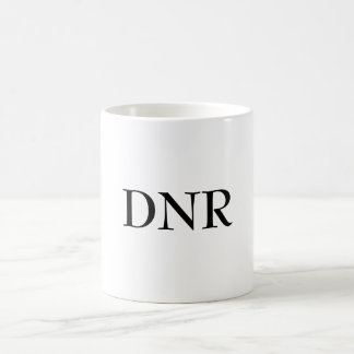 dnr coffee cup , mug