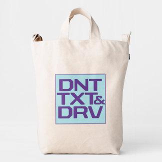 DNT TXT & DRV DUCK BAG