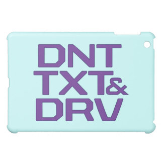 DNT TXT & DRV  iPad MINI COVERS