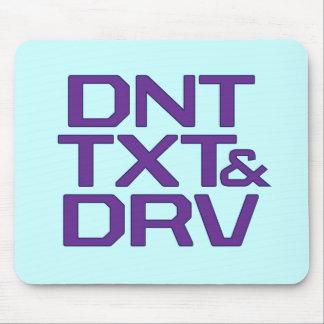 DNT TXT & DRV MOUSE PAD