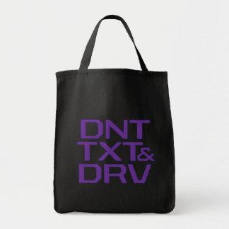 DNT TXT & DRV TOTE BAG
